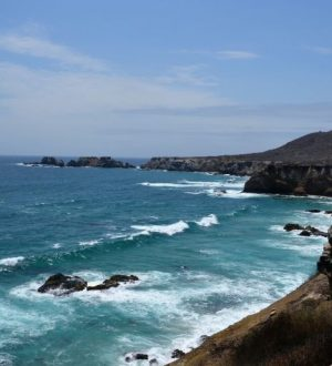 Enjoy the Pacific Ocean during the Ruta del Sol Tour.