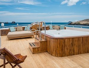 Relax on the sun deck of Sea Star Journey