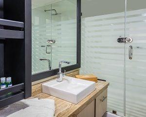 The bathroom of Sea Star Journey are luxury