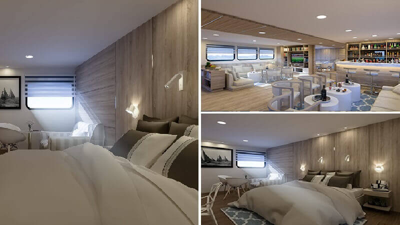 Solaris is a luxury Galapagos yacht with spacious cabins - check out the last minute options.