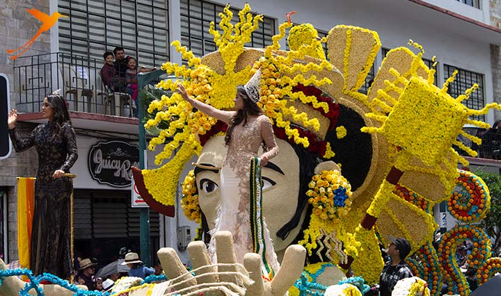 carnival float in ecaudor