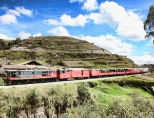 The tren crucero takes you through spectecular landscape.