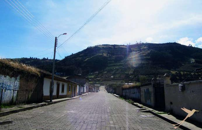 El Angel is a small village in northern Ecuador.