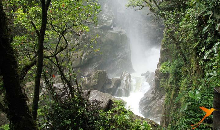 Waterfall in Ecuador