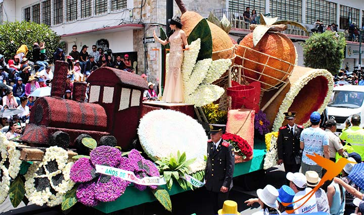 Ecuador Blog über Karneval in Ambato