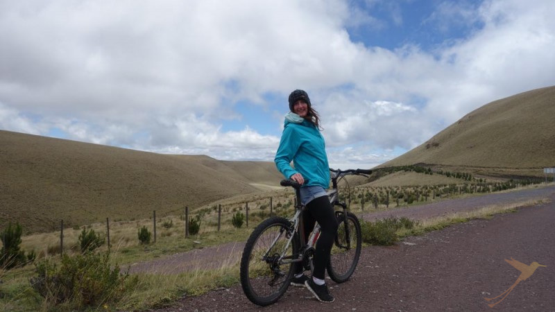 A Biking Tour in the Ecuadorian Andes can be a real challenge.