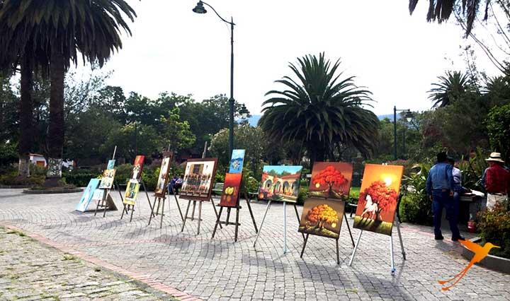 art in the park of cumbaya