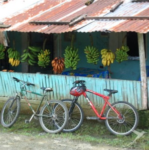 a bike tour from Baños to Puyo is a real adventure.