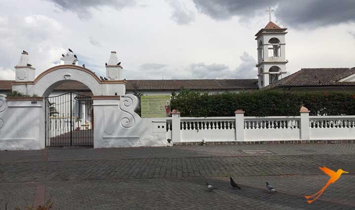 Church in Quitos east