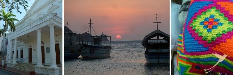 Visit Santa Marta at the carribean coast.