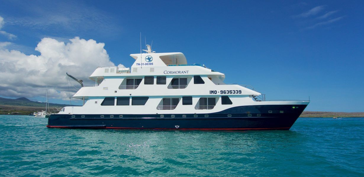 Discover the Galapagos Islands with the luxury yacht Cormorant.