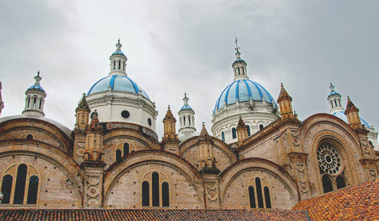 Cuenca is a beautiful colonial city in the south of Ecuador.