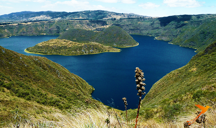 Cuicocha Lake. A thing to do in Otavalo
