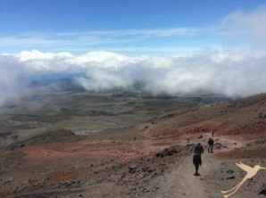 Climbing the Cotopaxi is a real adventure