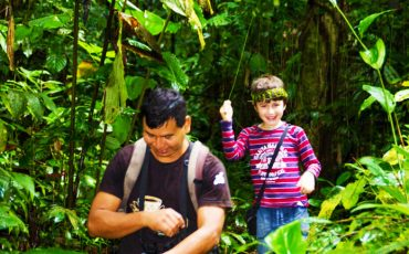 The ecuadorian jungle will be a real adventure for your kids