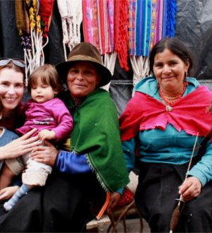 Discover the colorful market of Otavalo with the whole family