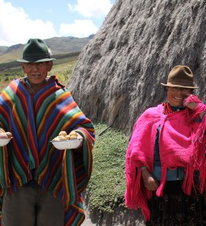 The indigenous people are very friendly.