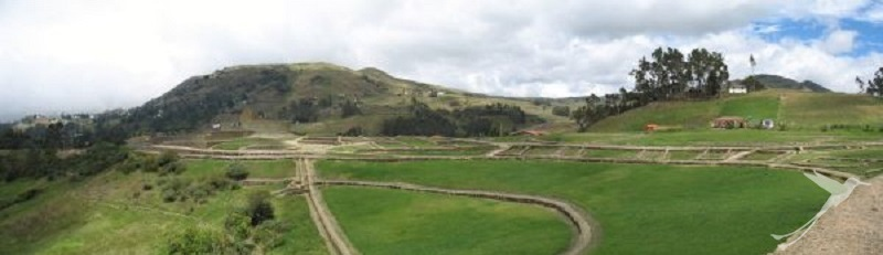 The ruins of Ingapirca are part of the Ecuadorian Inka trail