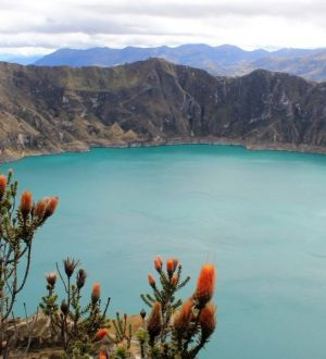 Enjoy great views during a hike at or around the Quilotoa crater lake