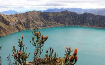 Enjoy great views during the Quilotoa loop trekking