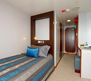 The single cabins of Ocean Spray are comfortable.