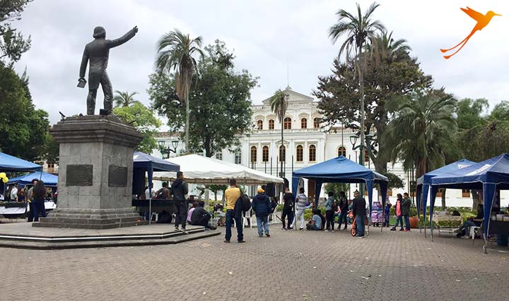 event in the park of ibarra