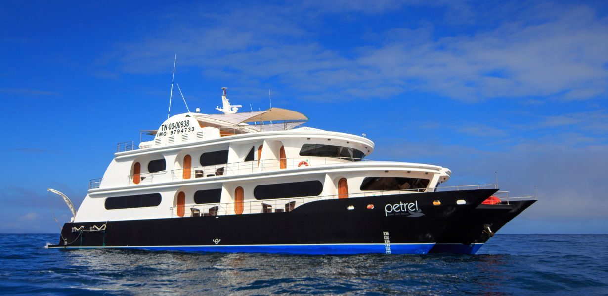 Let you take on an unforgettable Galapagos Cruise with the luxury yacht Petrel