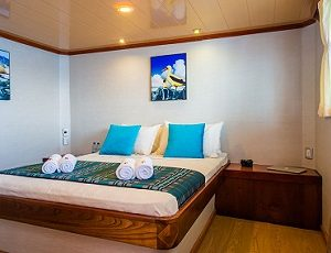 The cabins of the Seaman Journey are spacious and comfortable