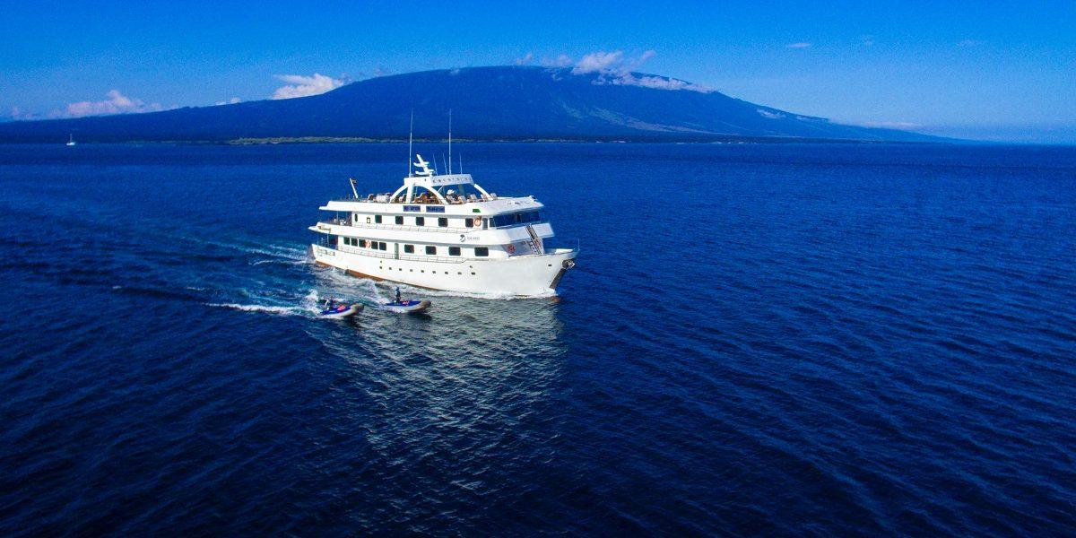 Solaris Yacht in the ocean