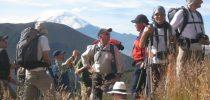 people on Condor trek
