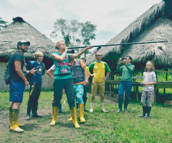Lern about traditional hunting methods in the amazon region of Ecuador